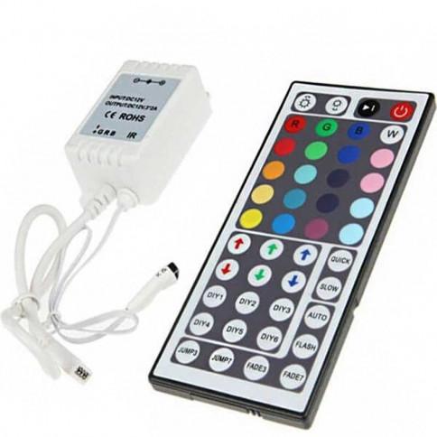 Contrôleur RGB Télécommande 44 touches Infra Rouge