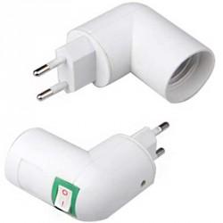 Support ampoule sur prise au format E14