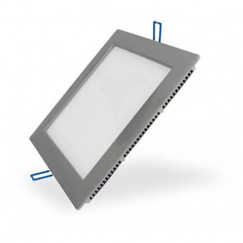 Panneau lumineux LEDs encastré ultra plat 12W 160 x 160 mm