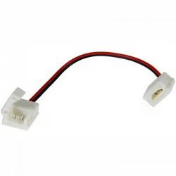 Deux boitiers de raccordement Clips-Grip connect sur câbles pour Strips LEDs unicolore 10mm