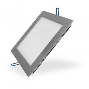 Panneau lumineux LEDs encastré ultra plat 12W 210 x 210 mm