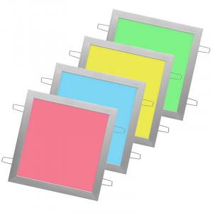 Panneau lumineux RVB LEDs encastré ultra plat 300 x 300 mm