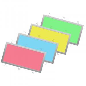 Panneau lumineux RVB LEDs encastré ultra plat 300 x 600 mm