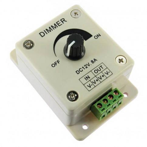 Variateur LED d'intensité lumineuse à bouton rotatif