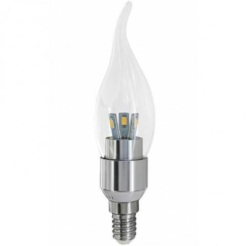 Ampoule flamme coup de vent E14 - 3W - 6 LED 5630