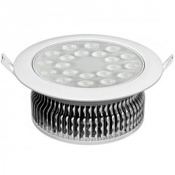 Downlight LED 21 watts encastré orientable