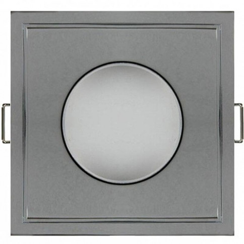 Spot encastrable Elvia carré finition alu IP65 classe 3