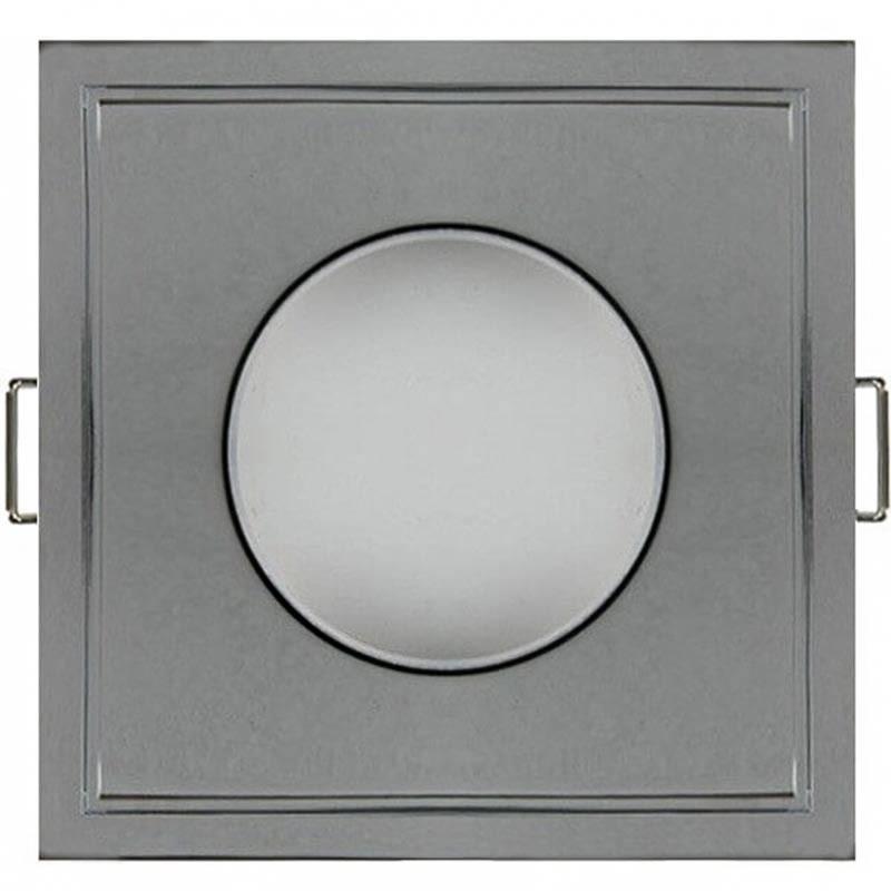 spot encastrable elvia carr finition alu ip65 classe 3. Black Bedroom Furniture Sets. Home Design Ideas