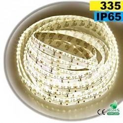 Strip Led latérale blanc chaud léger LEDs-335 IP65 120leds/m 30 mètres