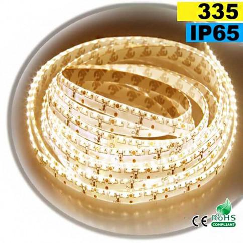 Strip Led latérale blanc chaud LEDs-335 IP65 120leds/m 30 mètres