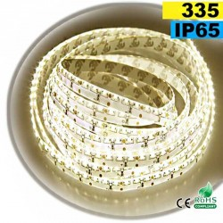 Strip Led latérale blanc chaud léger LEDs-335 IP65 120leds/m sur mesure