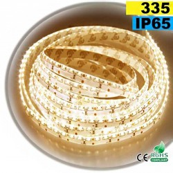 Strip Led latérale blanc chaud LEDs-335 IP65 120leds/m 5m