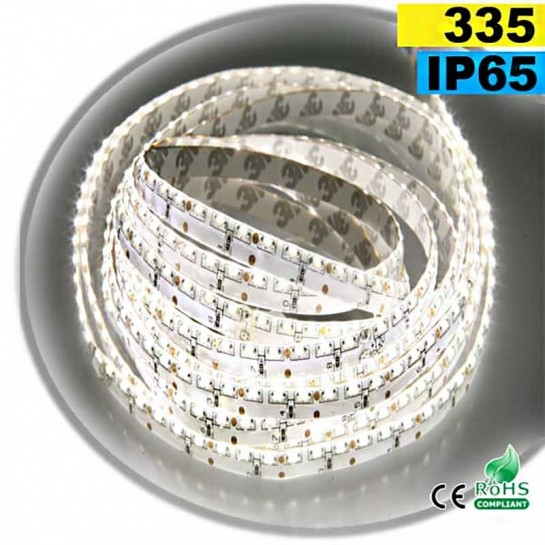 Strip Led latérale blanc LEDs-335 IP65 120leds/m 5m