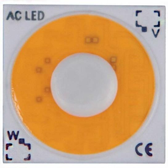AC LED COB de 7 watts à alimentation transistorisé