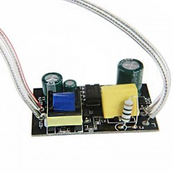 Source de courant constant LED de 24 watts à haut rendement 250 / 280 mA