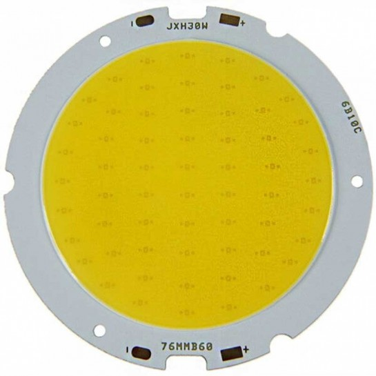 LED Multi Chip on board de 30 Watts Ø61mm
