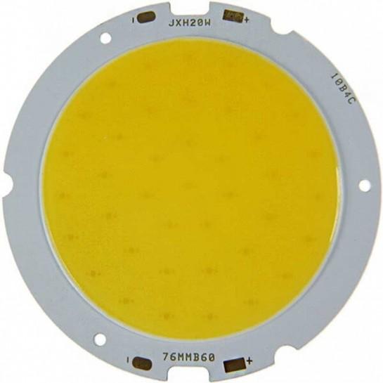 LED Multi Chip on board de 20 Watts Ø60mm