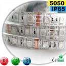 Strip 60 LEDS RVB rouleau flexible autocollant de 5m