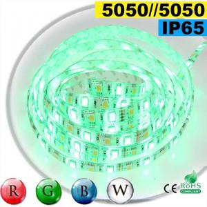 Strip Led RGB-W IP65 60leds/m SMD 5050 sur mesure