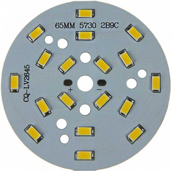 LED Multi Chip on board de 7 Watts Ø20mm