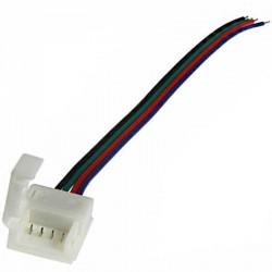 Câbles et boitier de raccordement Clips-Grip connect pour Strip LEDs RGB