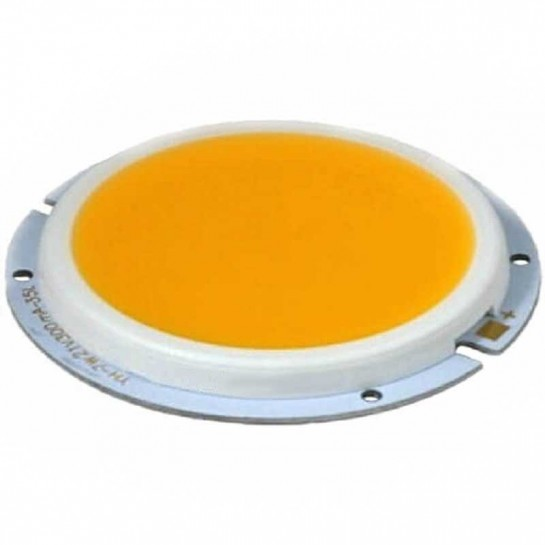 Platine LED Chip on board LED circulaire 7 Watts COB