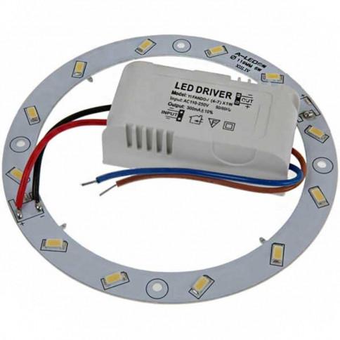 Circline LED Ø 119 mm - 12 LEDs 5630 - 6 watts