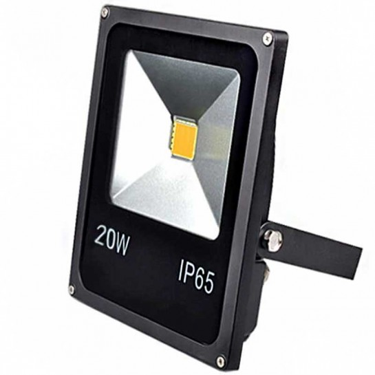 Projecteur Thin LED Mode Noir 20 watts