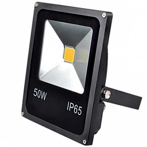 Projecteur Thin LED Mode Noir 50 watts