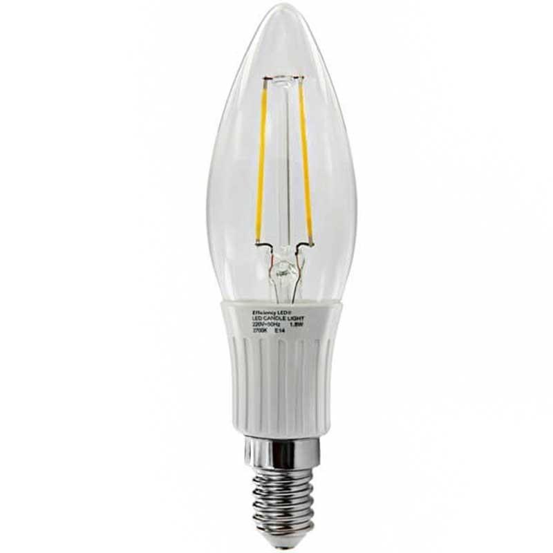 ampoule led 2 5 watts flamme filament led spectra color e14. Black Bedroom Furniture Sets. Home Design Ideas