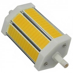 Ampoule R7s 8 watts LED COB 118mm dimmable