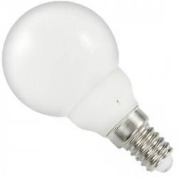 Ampoule sphérique E14 milk 220 volts 0.5 Watt