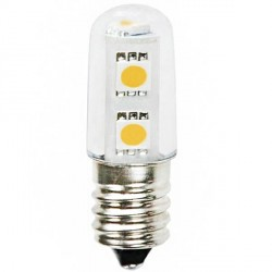 Ampoule 230 volts T15 Type FRIGO 7 LED SMD 5050 E14