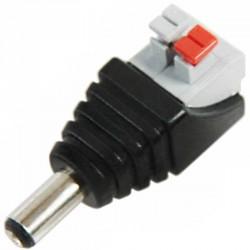 Connecteur jack rapide Push-In mâle