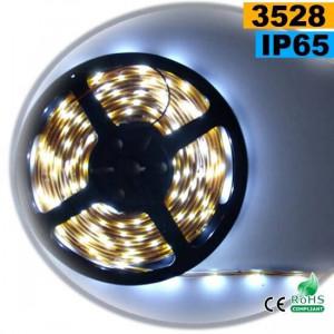 Strip Led blanc SMD 3528 IP65 30LED/m 5m