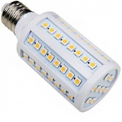 Ampoule 72 LED 230 Volts SMD E27 12 Watts dimmable