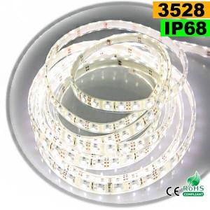 Strip LED blanc SMD 3528 IP68 60LED/m 5m