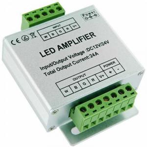 Amplificateur de signal pour rubans LED RGB W - 12 ampères