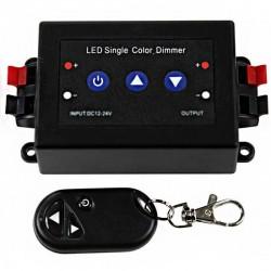 Variateur d'intensité lumineuse LED avec télécommande RF 3 touches