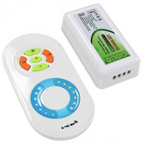 Télécommande tactile DIMMA-COLOR radio fréquence