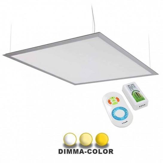 Panneau DIMMA-COLOR supendu ultra plat 40W 600x600mm