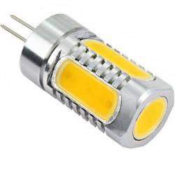 Ampoule 5 LED COB de 1 watts à culot G4 - 12 volts