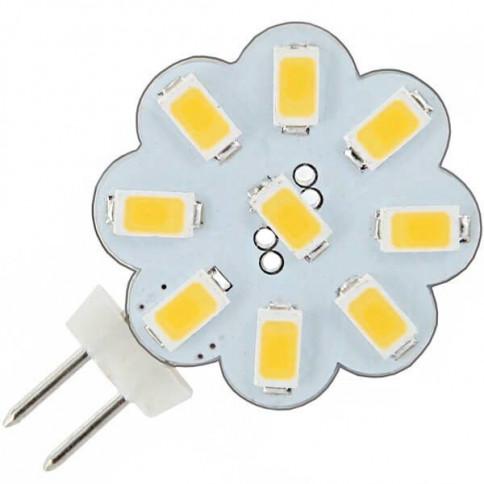 Ampoule flower 9 LED SMD 5730 culot G4