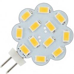 Ampoule flower 12 leds SMD 5730 culot G4