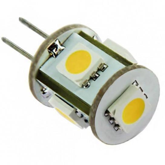 Ampoule 360° G4 5 LED SMD 12 volts