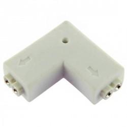 connecteur 2 pins femelle 90° pour Strips LED unicolors