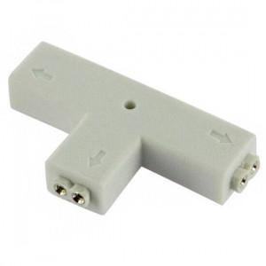 Connecteur T pour raccordement Strips LEDs unicilores