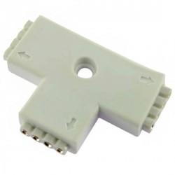 Connecteur T pour raccordement Strips LED RGB et DREAM-COLOR