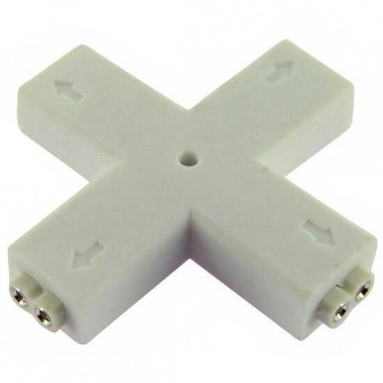 Connecteur X 2 pins femelle pour Strips LEDs unicolores