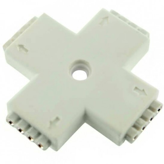 Connecteur X 4 pins femelle pour Strips LED RGB ou DREAM-COLOR